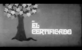 El certificado (Vicente Lluch, 1969)