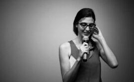 """Garbiñe Ortega presenta el taller """"Posibilidades de la ficción"""""""