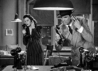 Luna nueva (Howard Hawks, 1940)
