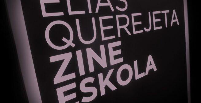 Elías Querejeta Zine-Eskola (EQZE) abre su periodo de admisión