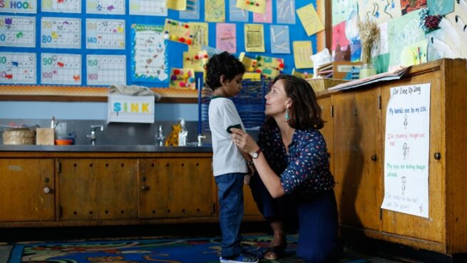 The Kindergarten Teacher (Sara Colangelo, 2018)